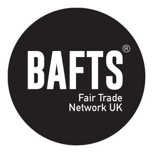 Tumia is a member of BAFTS - The British Association for Fair Trade Shops and Suppliers.
